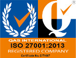 ISO 27001:2005 Certified