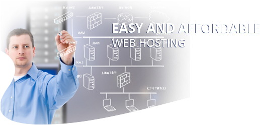 EASY AND AFFORDABLE WEBHOSTING